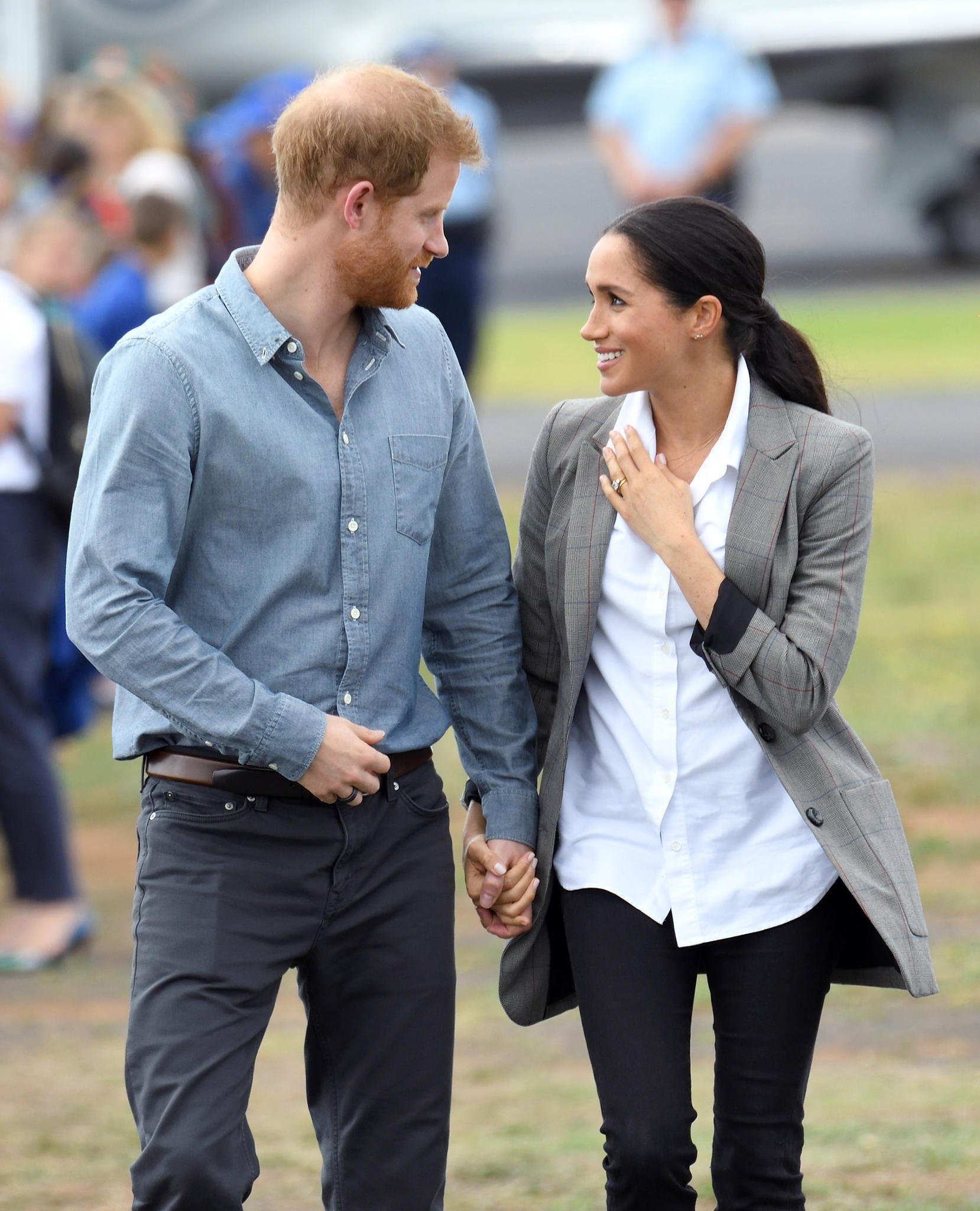 Prinz Harry + Herzogin Meghan
