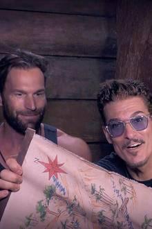 Bastian Yotta und Chris Töpperwien haben sich im Dschungelcamp versöhnt