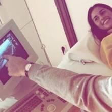 Sarah Lombardi verwirrt mit Ultraschallbild