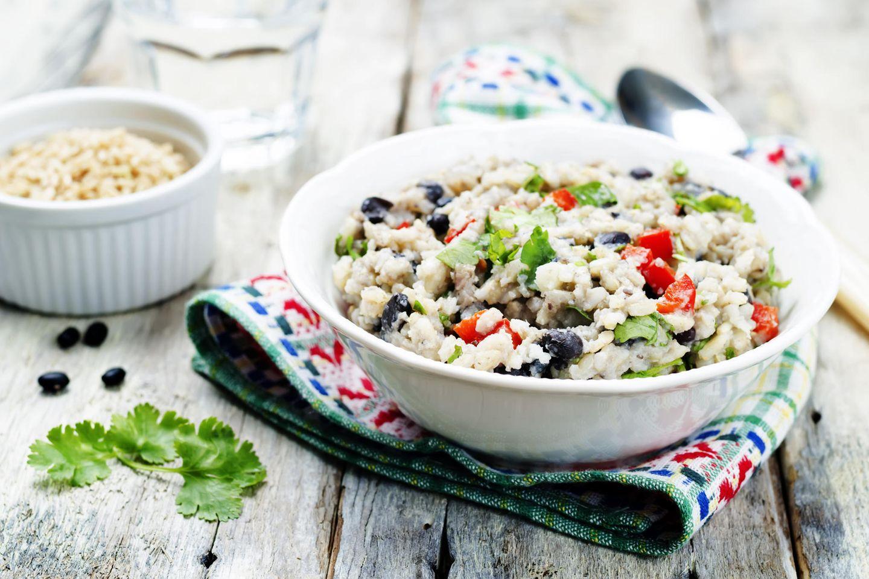 Abnehmen mit Reis und Bohnen?