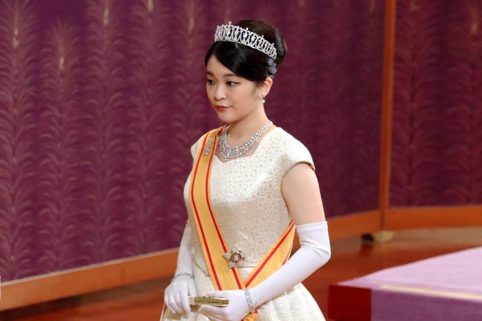 Prinzessin Mako ist die Enkelin von Kaiser Akihito von Japan