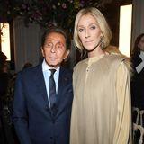Und mit der sehr zerbrechlich wirkenden Céline Dion muss natürlich auch ein Foto gemacht werden.