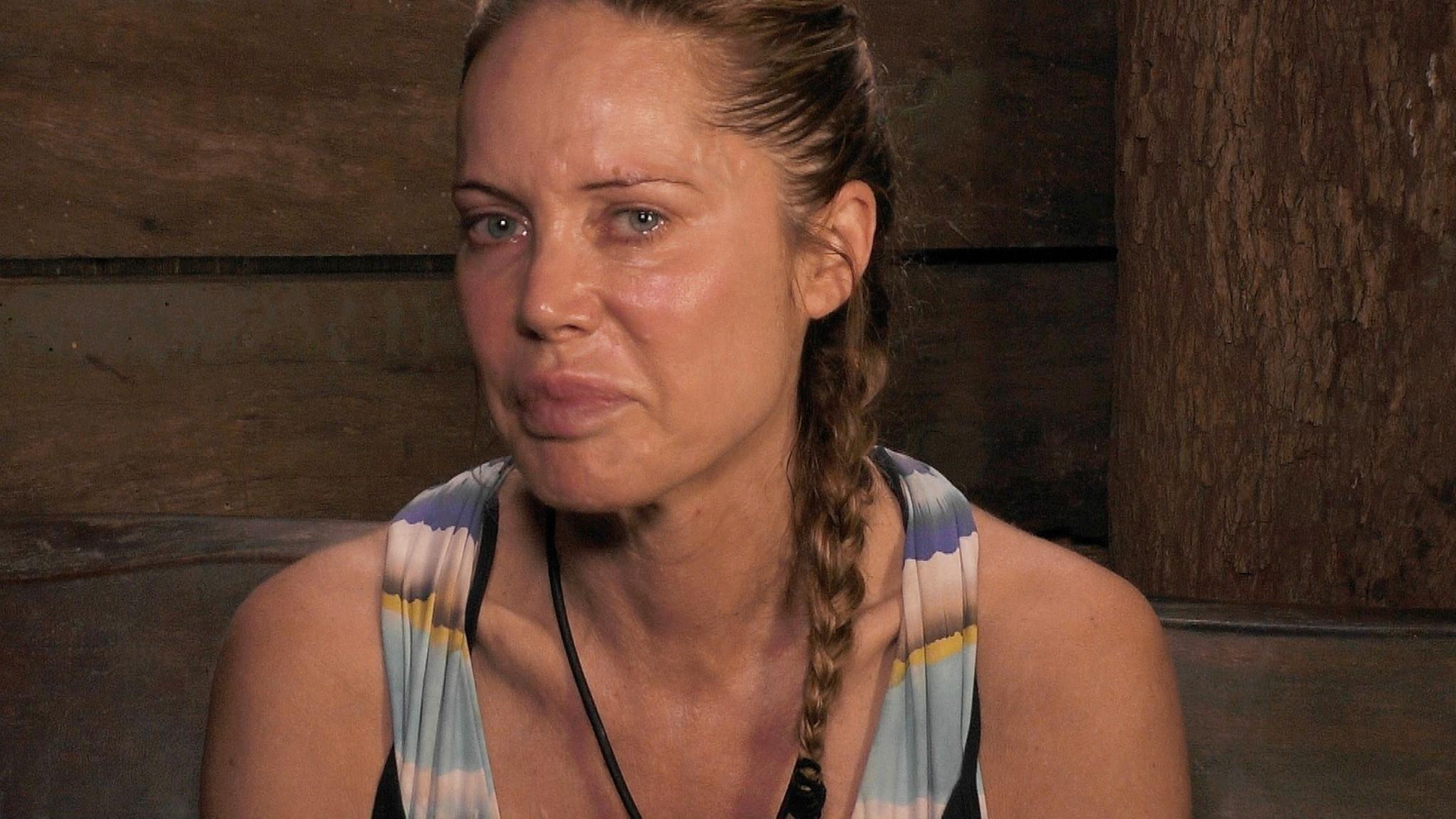 Im Dschungelcamp ließ Doreen Dietel ihren Tränen freien Lauf