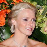 2007  Bei einer Charity-Gala in Monacobezauberte Charlène die Monegassen mit natürlich schönen Ausstrahlung.