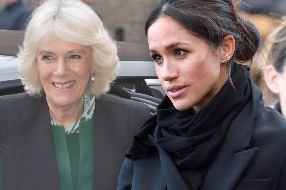 Teilen sich Herzogin Camilla und Herzogin Meghan Accessoires?
