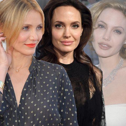 Cameron Diaz + Angelina Jolie