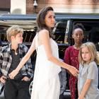 Angelina Jolie und ihre Kids