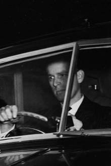 Prinz Philip und Queen Elizabeth, 1951.