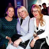 Posing-Profis:Simone Ballack, Claudia Effenberg und Giulia Siegel