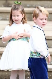 Prinzessin Charlotte + Prinz George müssen vielleicht bald ihre Geburtstage teilen