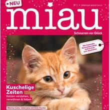 """""""Miau"""" das neue Heft für Katzenlover."""
