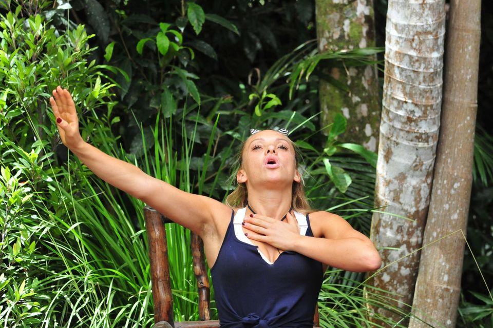 Dschungelkönigin 2019: Evelyn Burdecki