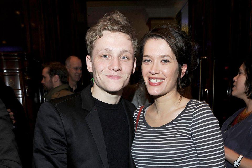 Matthias Schweighöfer und Anni im Februar 2011
