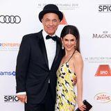 Heiner Lauterbach und seine schöne Ehefrau Viktoria sind immer ein absoluter Hingucker auf dem Red Carpet.