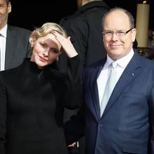 Fürstin Charléne + Fürst Albert