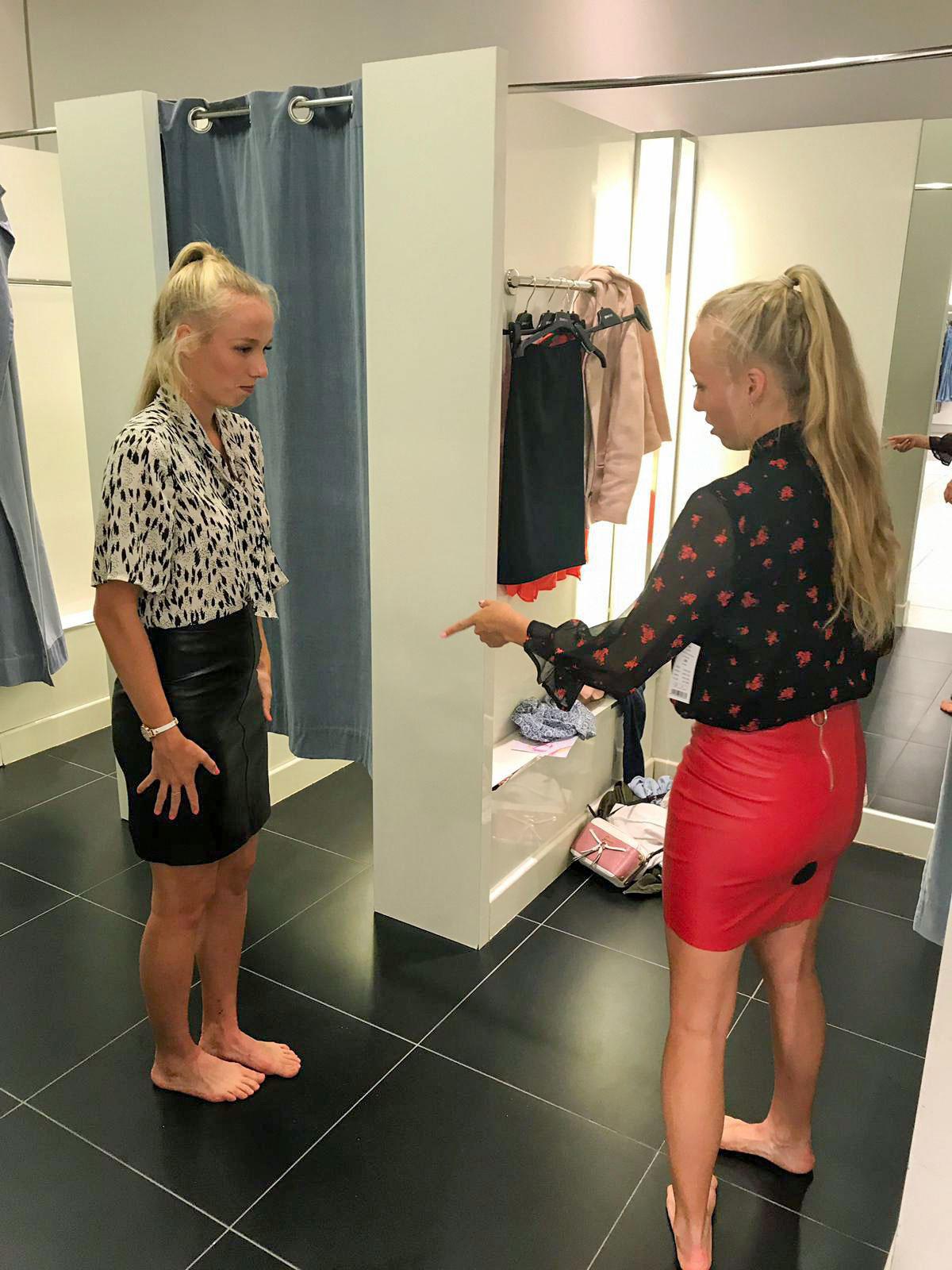 Wozu ein Spiegelbild, wenn man seinen Twin an Bord hat?Ob der Zwillingsstatus beim Shopping hilft, sehen VOX-Zuschauer am Mittwoch, den 30. Januar 2019.