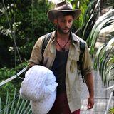 Erschöpft und mit acht Kilo weniger auf den Hüften verlässt Domenico als Erstes das Dschungelcamp und kann sich nun wieder seiner täglichen Essens- und Trainingsroutine widmen.