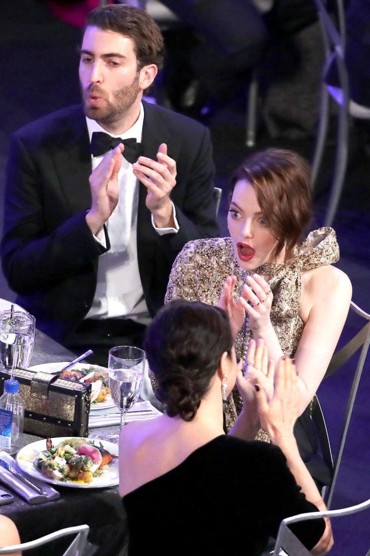 27. Januar 2019  Obwohl sie schon seit 2017 zusammen sein sollen, hat man Emma Stone und Dave McCary bisher sehr selten gemeinsam gesehen. DieScreen Actors Guild Awards in Los Angeles sind jetzt tatsächlich der erste öffentliche Auftritt des Paares.