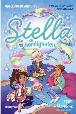 """Buch-Cover von""""Stella und das Geheimnis"""" (Stella och Hemligheten)"""