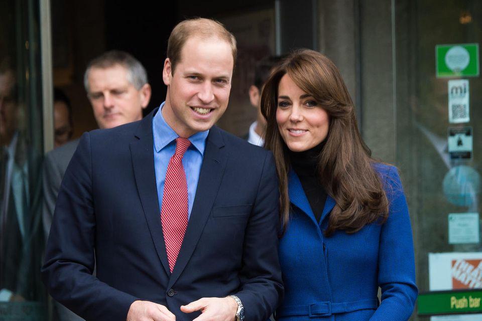 Prinz William + Herzogin Catherine bei ihrem Besuch in Dundee im Jahr 2015