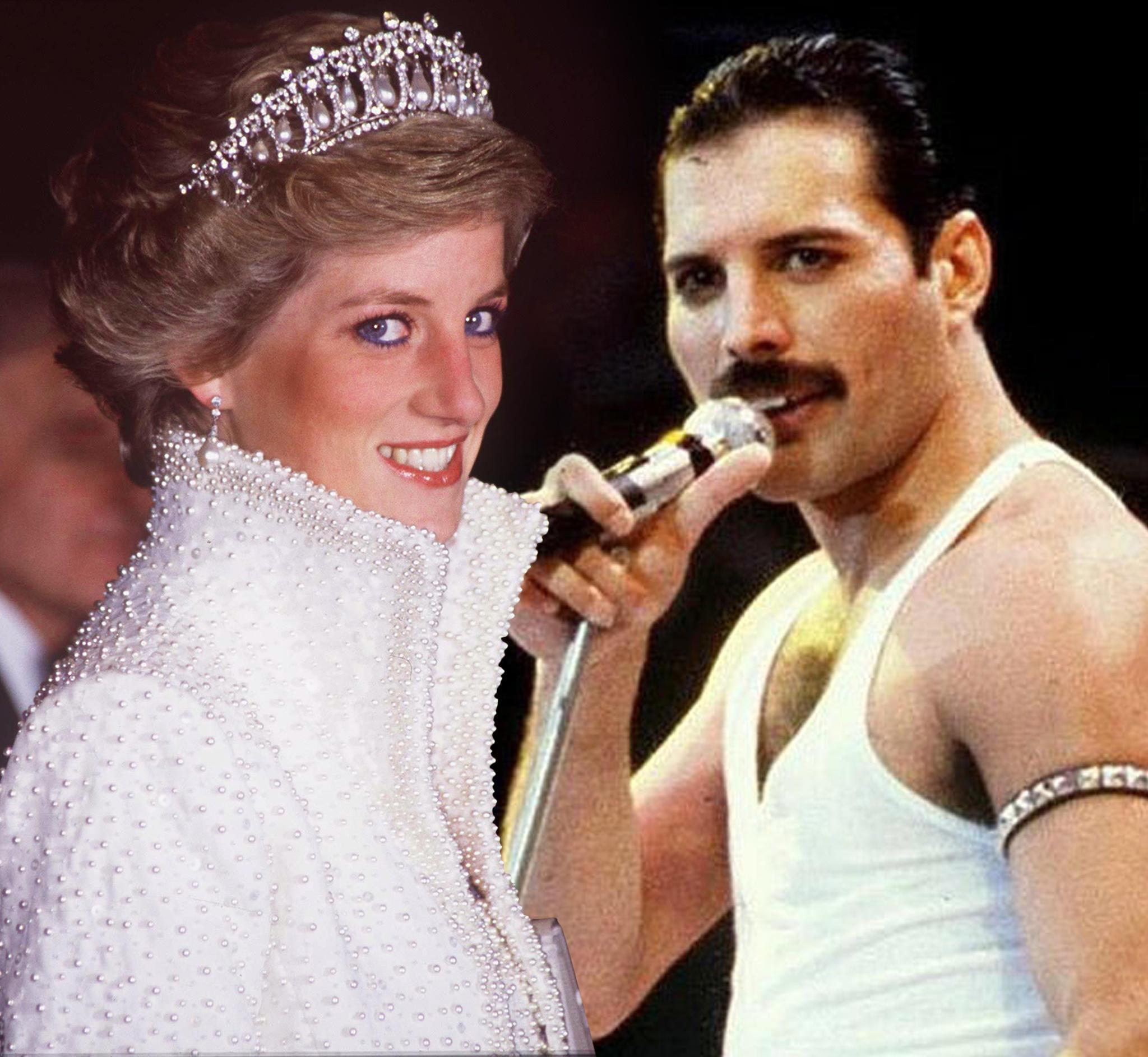 Prinzessin Diana, Freddie Mercury