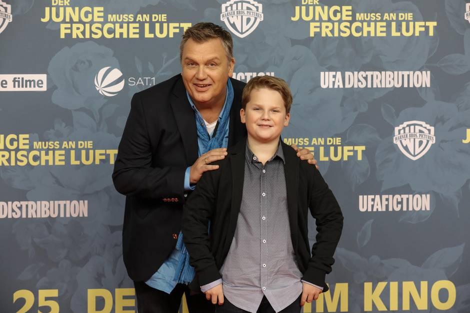 """""""Julius ist ein Super-Kumpel"""", sagt Hape Kerkeling über sein Mini-MeJulius Weckauf"""