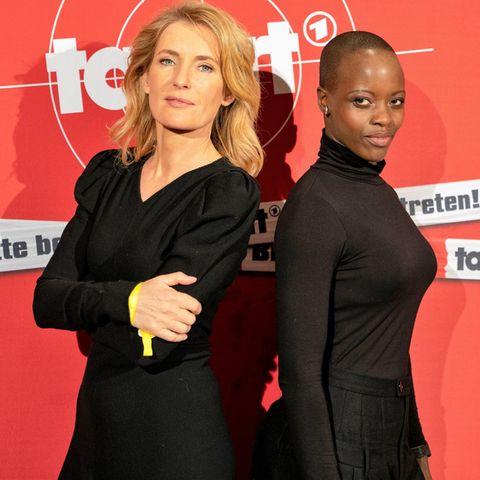 Maria Furtwängler + Florence Kasumba
