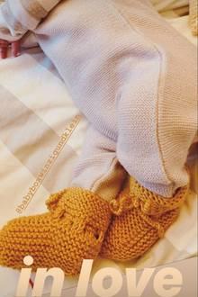 Auf Instagram teilt Eva Padberg ein erstes Foto ihres Babys.