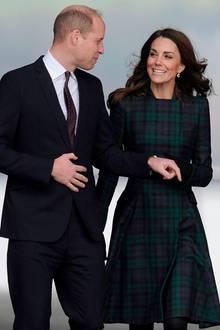 29. Januar 2019  Prinz William und Herzogin Catherine besuchen zur Einweihung eines Designmuseums das schottische Dundee. Die Stadt liegt nur wenige Kilometer von der Universität St. Andrews entfernt - dem Ort, an dem siesich einst kennen und lieben lernten.