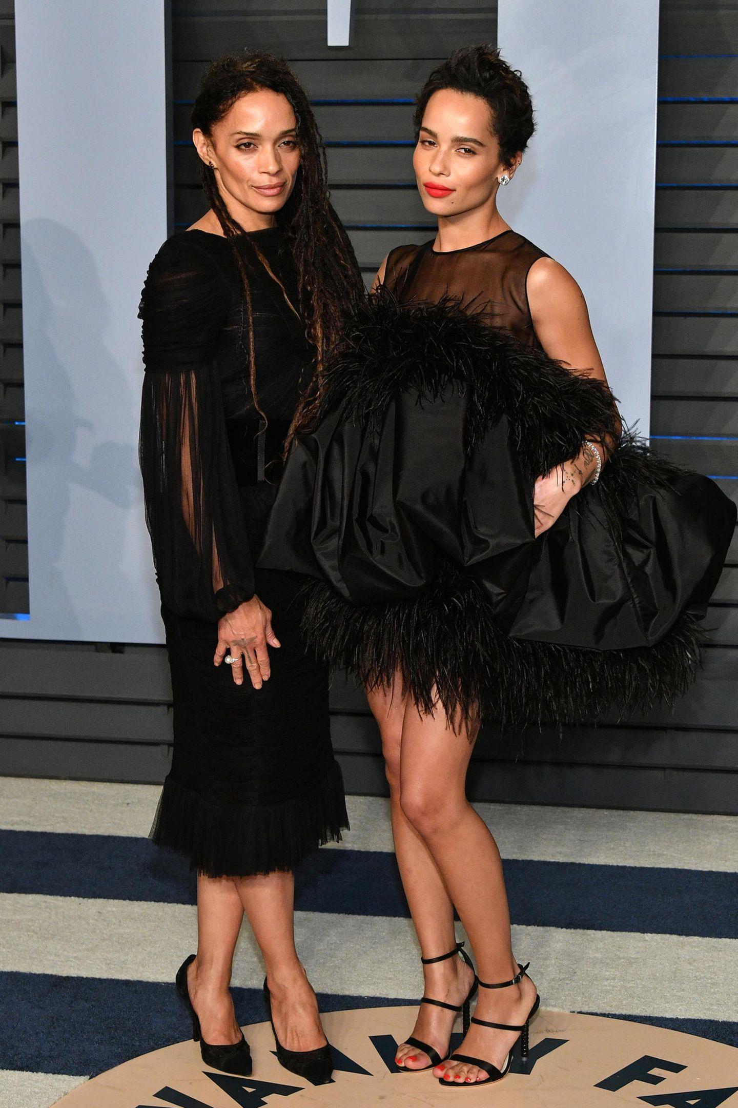 Zoë Kravitz ist als Schauspielerin mittlerweile fast schon berühmter als ihre Eltern Lisa Bonet und Lenny Kravitz.Ihr Aussehen war der Karriere dabei sicher nicht ganz unzuträglich.