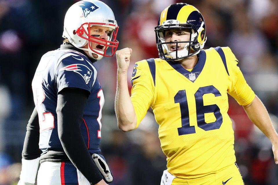 Tom Brady, Jared Goff, Super Bowl 2019