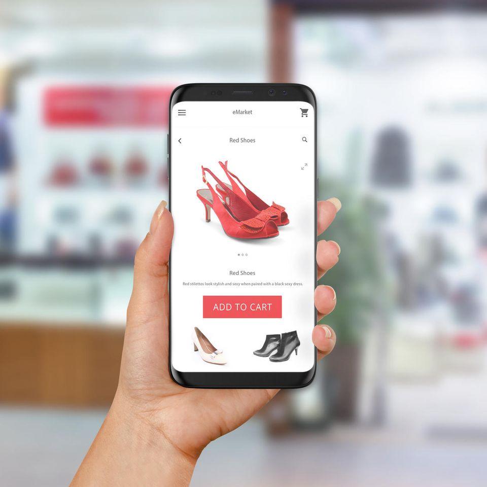 Immer beliebter: Shopping-Apps auf dem Smartphone