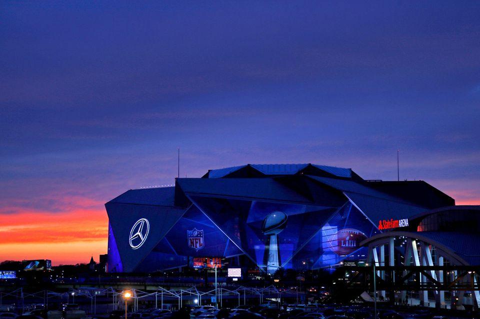 Mercedes Benz Stadium, Super Bowl 2019