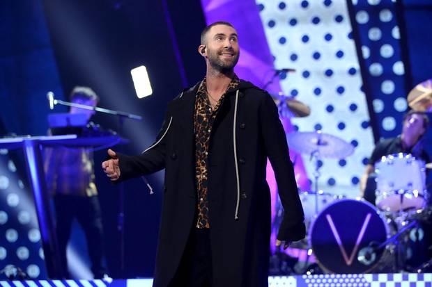 Adam Levine, Maroon 5, Super Bowl 2019