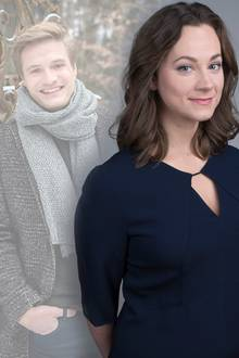 """Ragnar (Jeroen Engelsman) und Tina (Christin Balogh) treffen am """"Fürstenhof"""" aufeinander"""