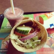 Ekelfund: Dieser Veggie-Wrap von McDonalds ist nichts für Vegetarier
