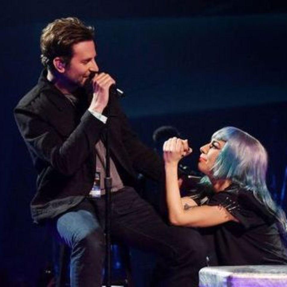 Bradley Cooper + Lady Gaga
