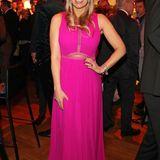 Ruth Moschner in Pinkist farblich ein echtesHighlight beim Fernsehpreis.
