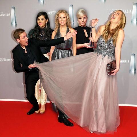 Glamour oder Grusel? Das sind die Tops und Flops vom Deutschen Fernsehpreis 2019