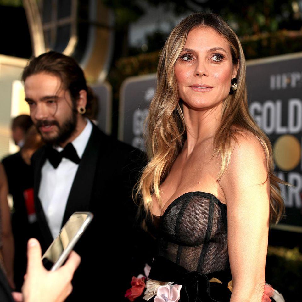Heidi Klums Verlobter Tom Kaulitz gerät auf Instagram unter Beschuss