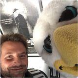"""Bradley Cooper ist nicht nur in dem Film """"Silver Linings"""" ein großer Fan der Eagles. Auch im privaten Leben unterstützt er die Adler aus Philadelphia."""