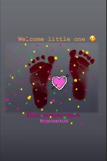 Tessa Bergmeier verrät in ihrer Instagram Story die Geburt ihrer zweiten Tochter.