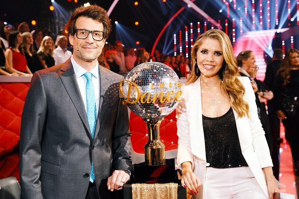 Daniel Hartwich und Victoria Swarovski auch während der 12. Staffel durch die Show