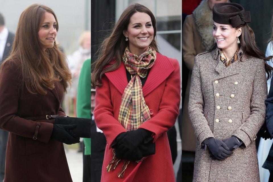"""Immer wieder wird Herzogin Catherine seit 2012 mit Handschuhen von Cornelia Lawson gesichtet. Der Plan des Labels, sie """"zu gewinnen"""" ist aufgegangen."""