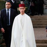 Auch der marokkanische Prinz Moulay Hassan ist angereist.