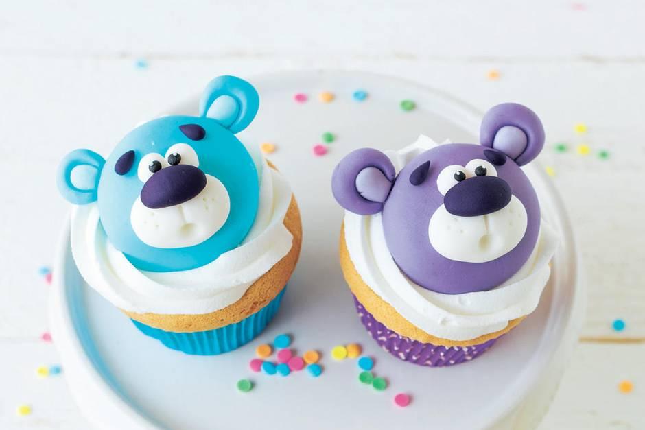 Teddy-Cupcakes