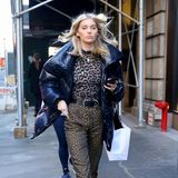 4. Februar 2019  Eine Wildkatze im Big Apple: Model Elsa Hosk verlässt das Fitting bei Marc Jacobs während der New York Fashion Week.