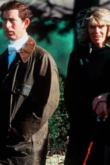 Prinz Charles und Camilla Parker Bowles 1979
