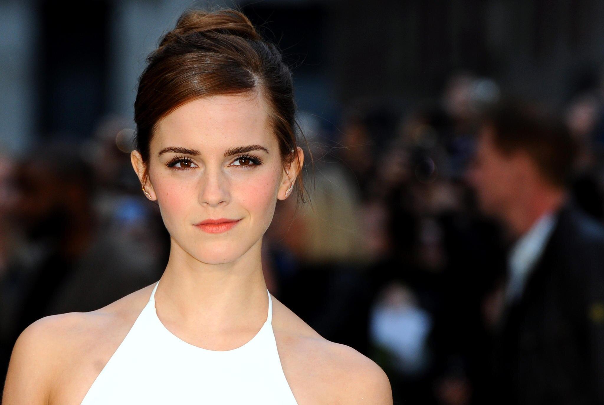 Die Briten sehen in Emma Watson eine 007-Agentin