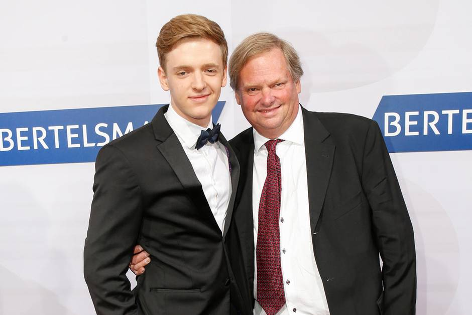 Timur Bartels und sein Vater Bernhard im September 2016.